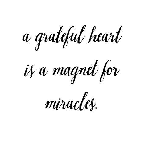 grateful heart miracles