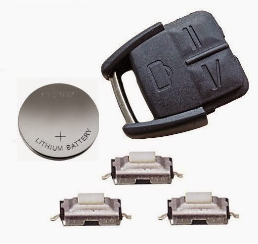 thay pin cho chìa khóa xe ô tô hết pin