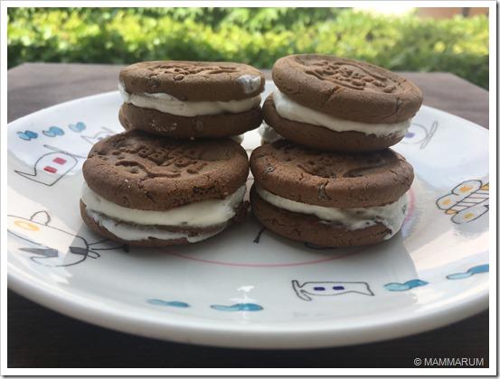 ricetta gelato biscotto senza gelatiera 30