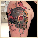 skull-and-roses-tattoo-design-idea7