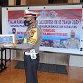 Satlantas Polres Soppeng Gelar Bakti Sosial Sambut  Hari  Lalu Lintas Bhayangkara ke-65