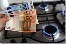 Aumenta spesa per gas