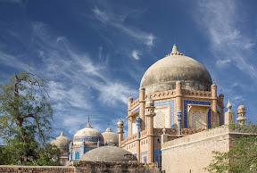 The royal graveyard of the Abbasi family, Derawar