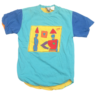 Peter Max Vintage Reversible T-Shirt