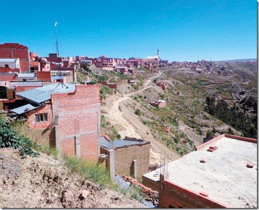 Zonas olvidadas de La Paz