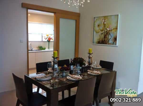 cho thuê nội thất siêu 3 phòng ngủ căn hộ the vista q2 giá gốc