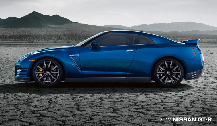 2012 Nissan R35 GTR Blue