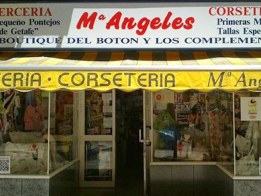 M. ANGELES, mercería, corsetería, lencería