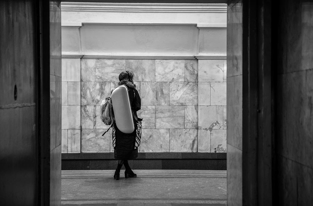 俄羅斯 莫斯科 地鐵站 Moscow metro Arbatskaya