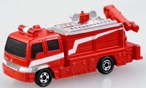Tomica 74 - Rescue Car III màu sắc sinh động như thật