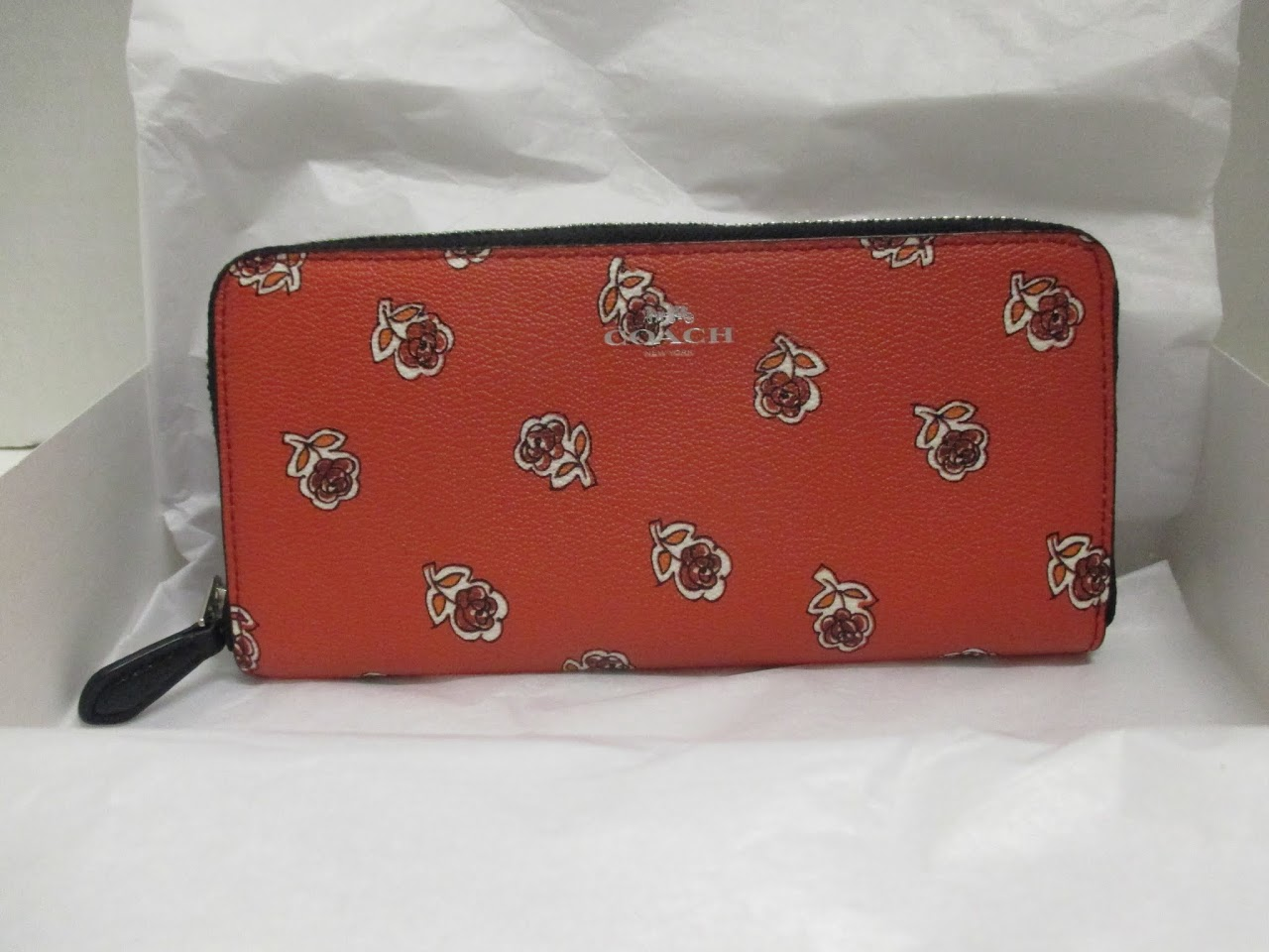 Coach 'Roses' Wallet