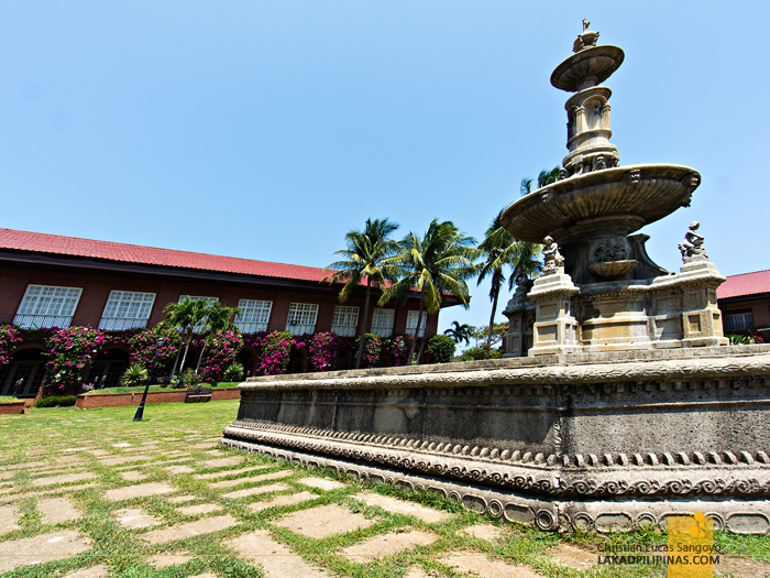 The Famous Fountain at Laoag's Fort Ilocandia