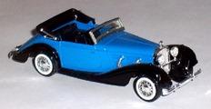 4086 MERCEDES 540 K cabriolet 1938