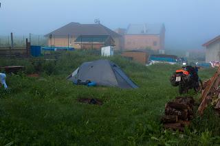 Maglovito jutro u Češkoj