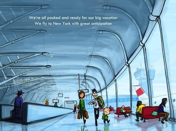 Airport, New York
