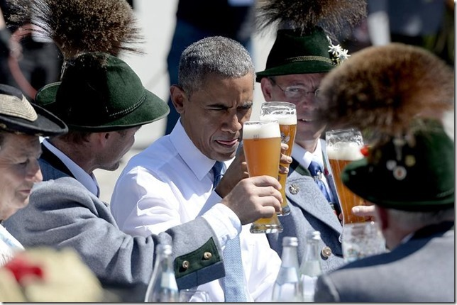 Obama in garmisch 1