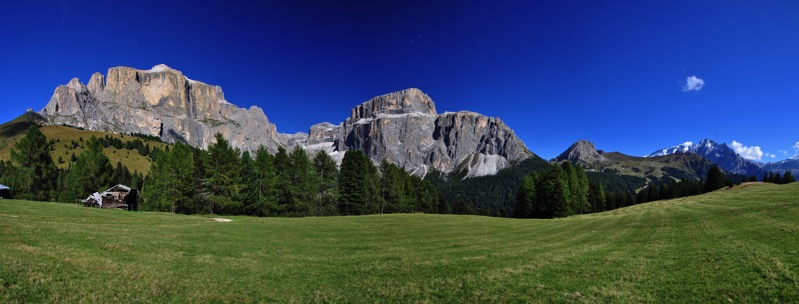 Panoramica Sella Pordoi