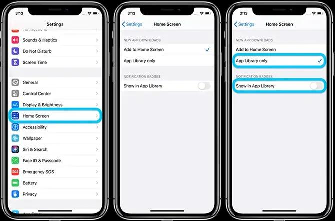 كيفية إخفاء التطبيقات فى ايفون