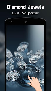Diamond Jewels Live Wallpaper - náhled