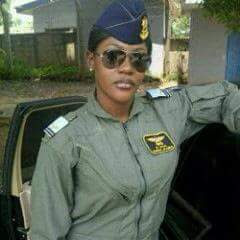 NIGERIA AIR FORCE PRODUCES FIRST FEMALE COMBAT PILOT