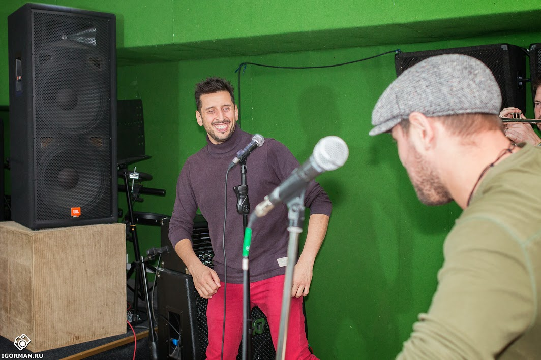 Фотосъемка бэкстейдж (backstage) - группа Градусы на репетиции