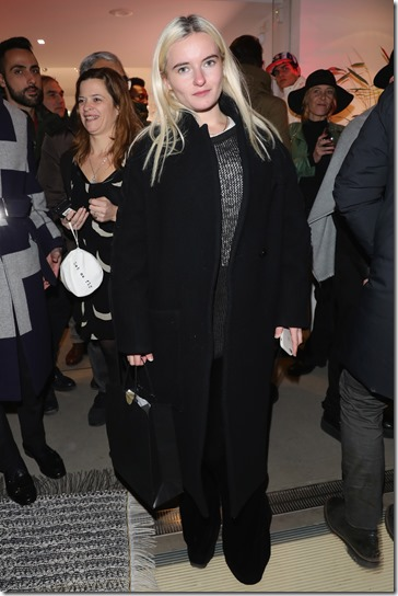 FLORENCE, ITALY - JANUARY 11:  Grace Chatto attends The Icon Project Peuterey by LUISAVIAROMA on January 11, 2017 in Florence, Italy.  (Photo by Vittorio Zunino Celotto/Getty Images for LUISAVIAROMA)