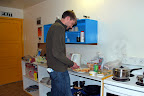 Hostels are budget oriented accomodation, typically with shared facilities (e.g. the kitchen).