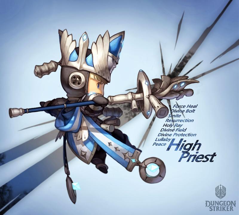 Ngắm các nhân vật dễ thương trong Dungeon Striker - Ảnh 11