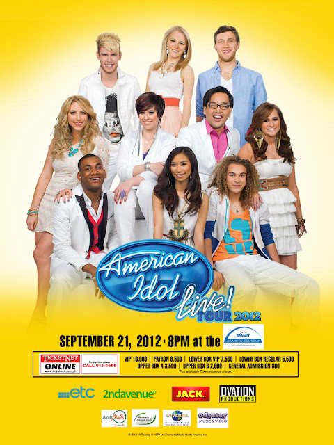 Jessica Sanchez American Idols now in Manila, Shows Schedule Announced, phantom of the opera live in manila