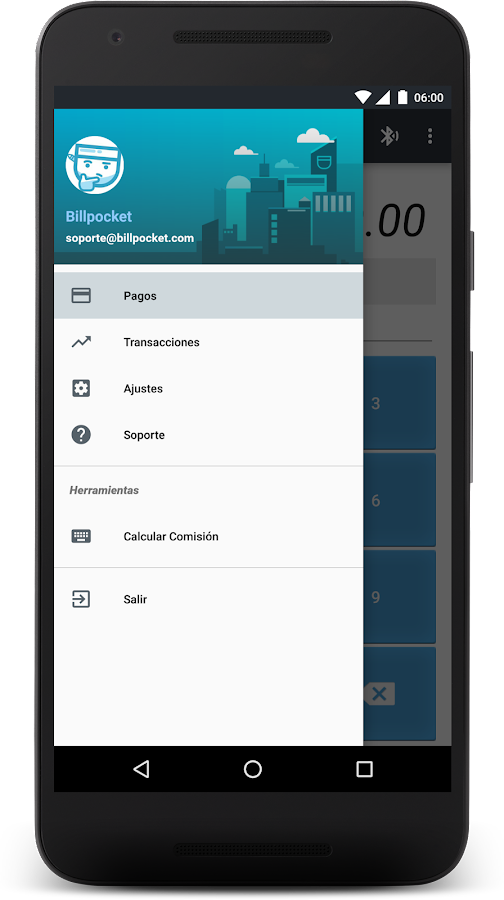Billpocket- screenshot