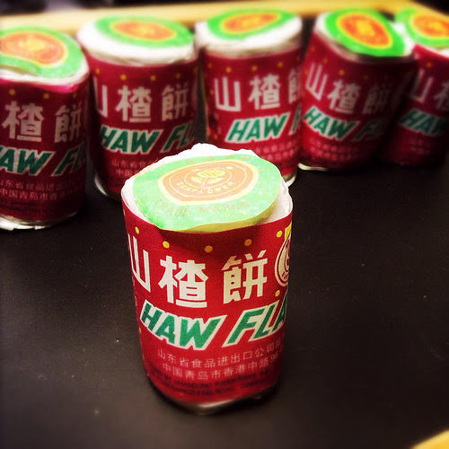 Haw Flakes, 山楂餅, haw, candy, chinese, traditional