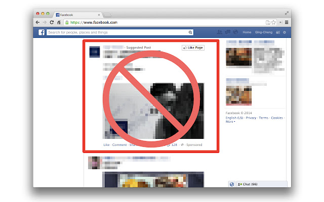 QCLean:Remove Facebook Ad,Suggested Page&Post