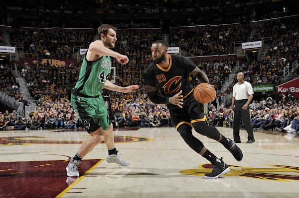 LBJ Debuts His Second Nike LeBron 14 Colorway vs Celtics