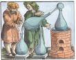 Woodcut From Geber De Alchimia Libri Tres Strassburg 1631
