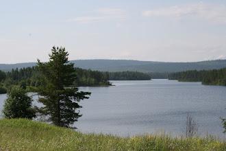 Photo: Järvi aukesi upeana
