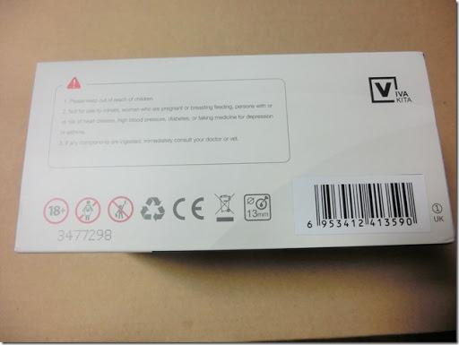 CIMG0380 thumb3 - 【MOD】Vaptio VivaKita「FUSION Ⅱ Starter KIt](フュージョンⅡ スターターキット)レビュー!おしゃれでスタイリッシュ、コンパクト!操作も簡単で、誰にでも使いやすいAIOタイプMOD。【MOD/電子タバコ/Starter Kit/AIO】