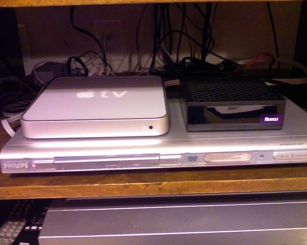 AppleTV and Roku