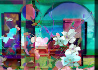 """The """"Still Life with Orchids"""" piece from the """"2007"""" collection"""