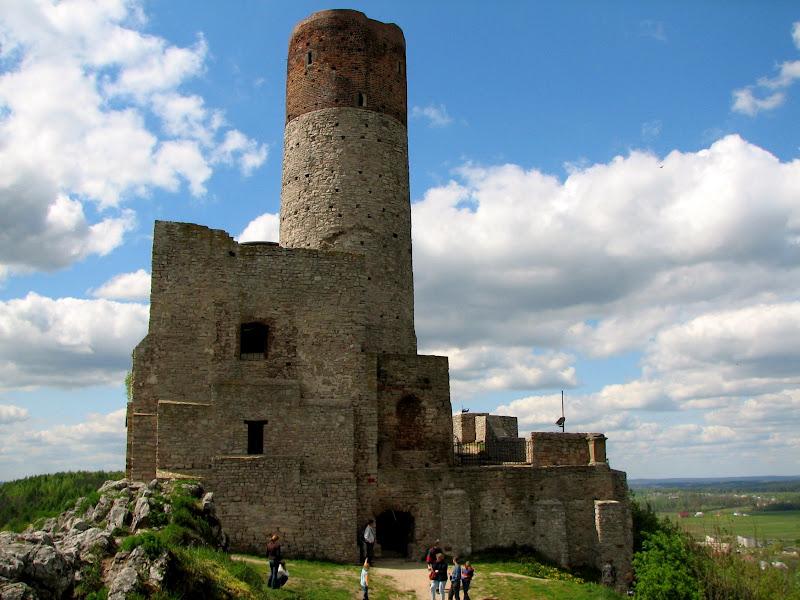 Wieża w zamku w Chęcinach
