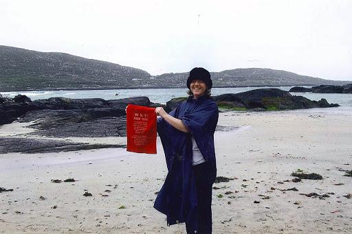 Mary Jo (Keene) Moore ('82) County Kerry Ireland August 2008
