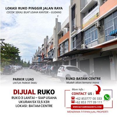 Ruko Anggrek Mas 2 batam Centre