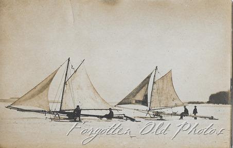 Ice Sailing Fergus Falls ant