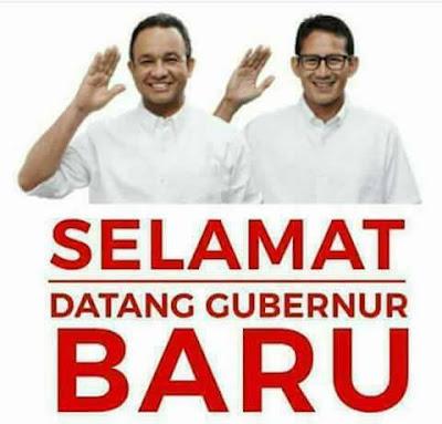 Sambutan Pertama Gubernur Baru Diselingi Takbir dan Shalawat