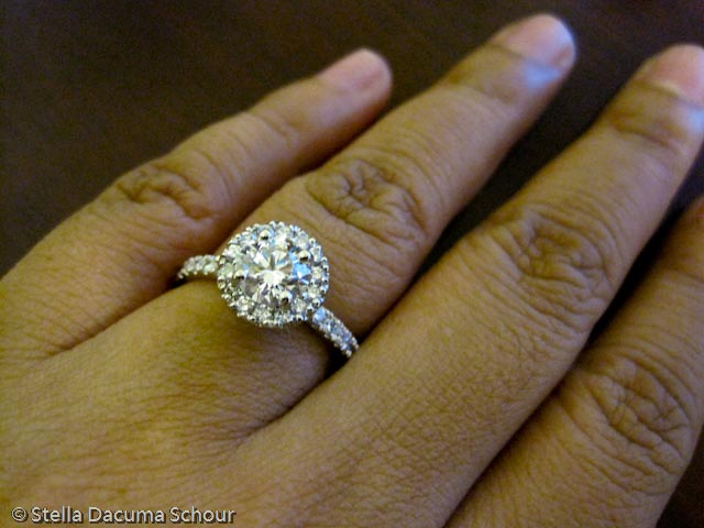 Stella Dacuma Schour Photo Engagement Ring