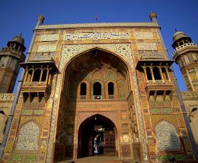 Main Entrance of Masjid Wazir Khan