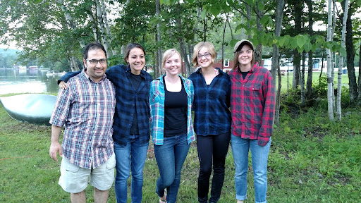 Morgan, Eilidh, Ashley, and Ashley invited me into this photo just because I was wearing plaid like them. Teenagers are crazy!