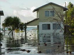King Tides washing over Kiribati, 2005