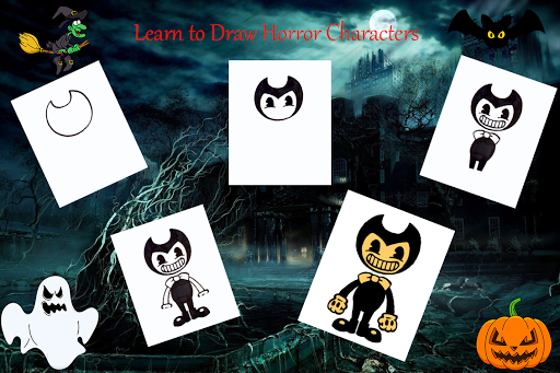Foto do Learn to Draw Horror Characters