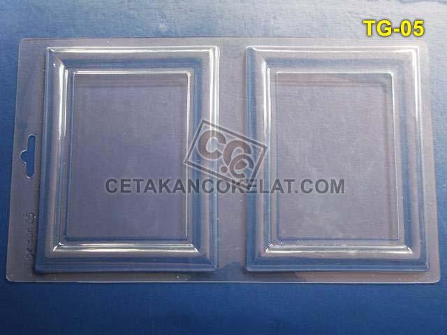 Cetakan Coklat Tigerson TG05 frame foto edible bingkai TG