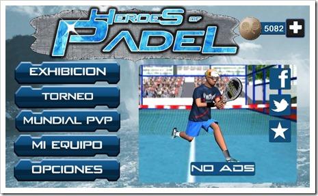 Heroes of Padel el videojuego gratuito para iOS y Android ya disponible para su descarga.